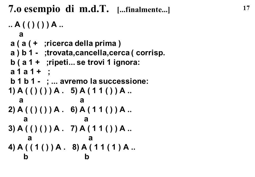 7.o esempio di m.d.T. [...finalmente...]